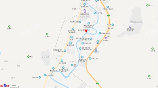 东部万科城交通图