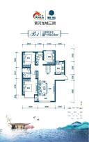 三期东区高层户型图2-02