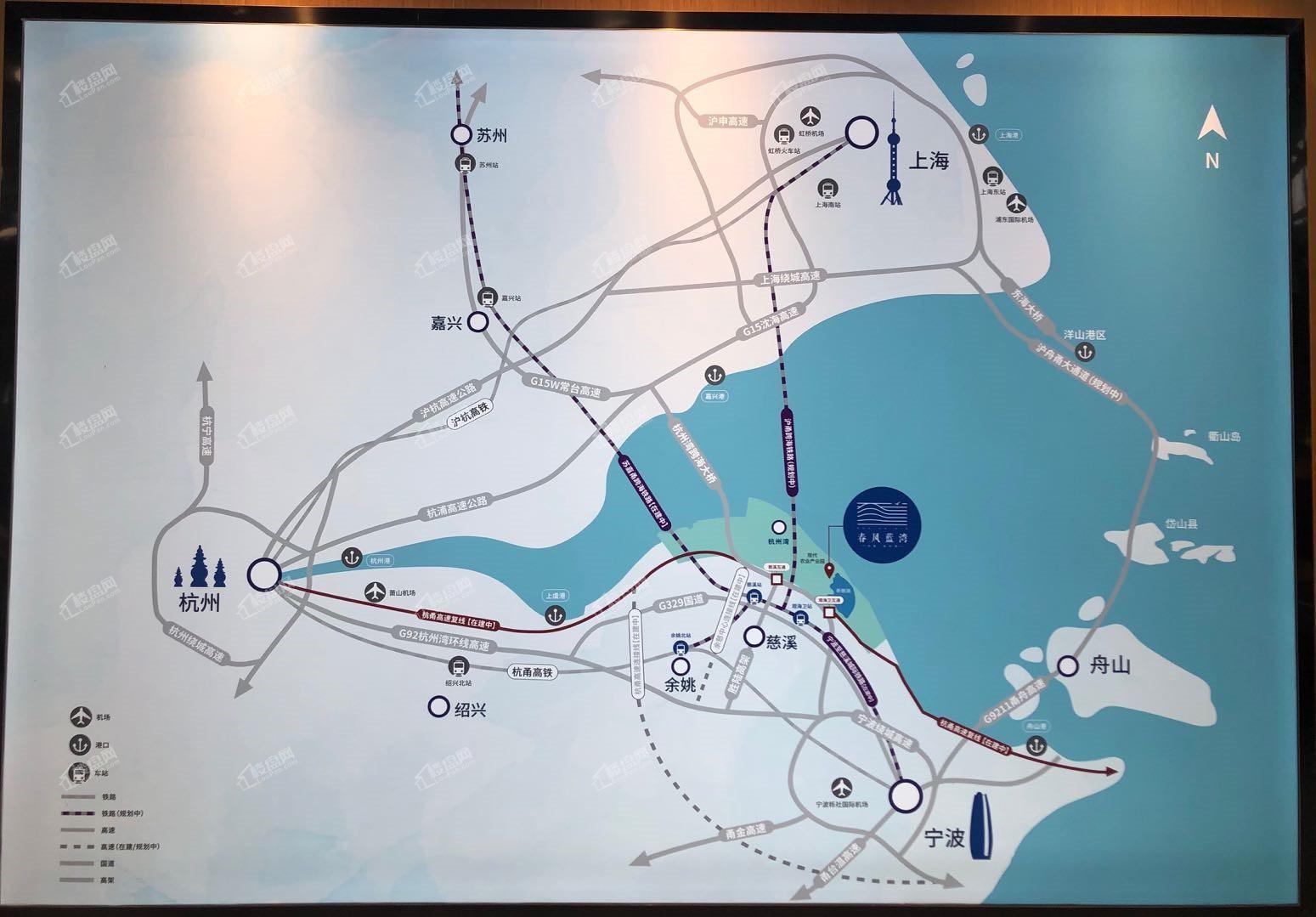 正大蓝城·春风蓝湾位置图