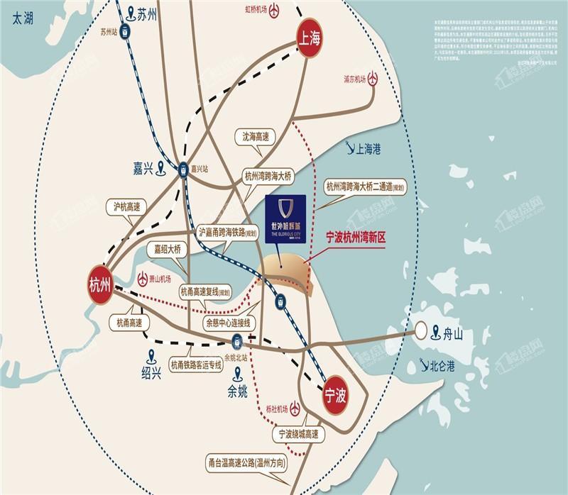 世外旭辉城位置图