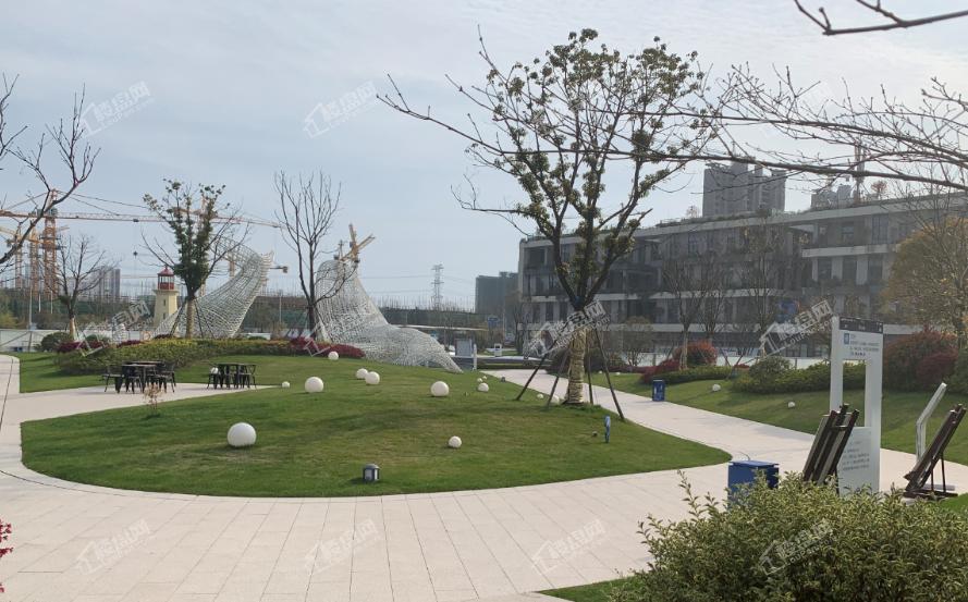 杭州湾碧桂园海上传奇实景图