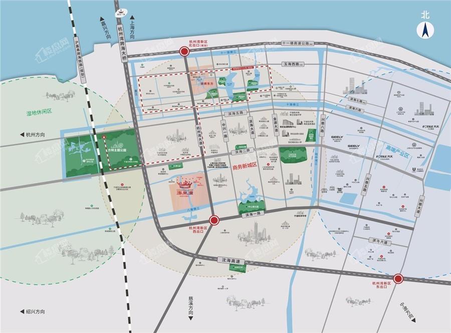 港中旅锦绣东方位置图