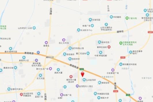 永安卧龙壹号交通图