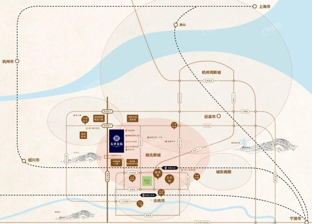 天华玺园位置图