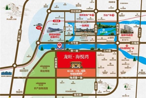 龙旺海悦湾位置图
