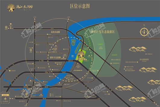 漓江大河坊交通图
