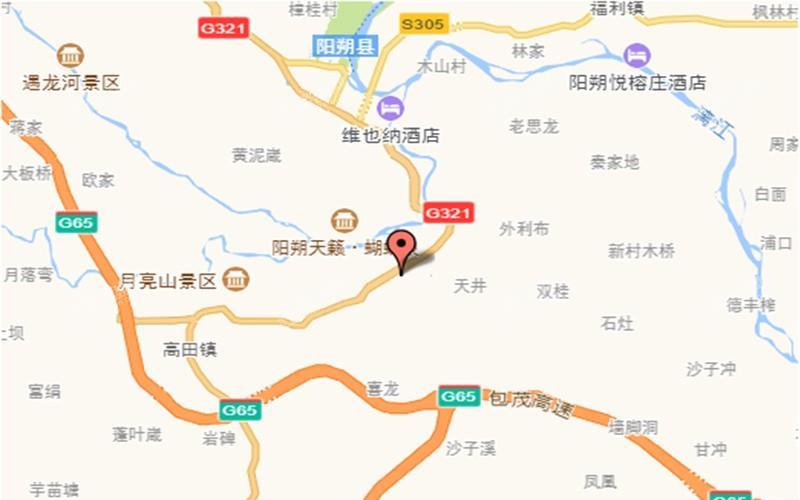 凤凰山水尚境位置图