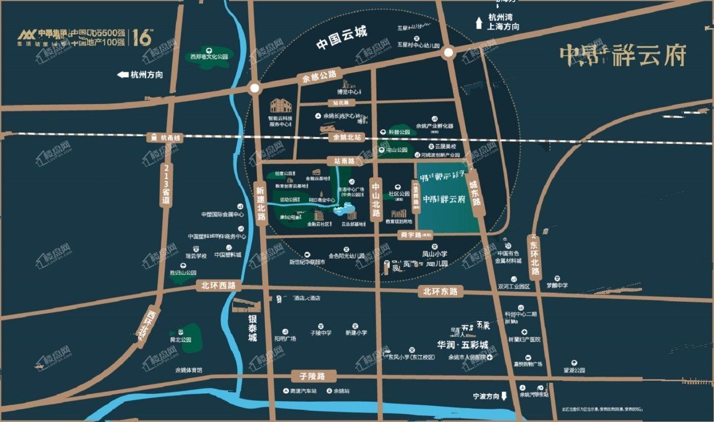 中昂江南印位置图