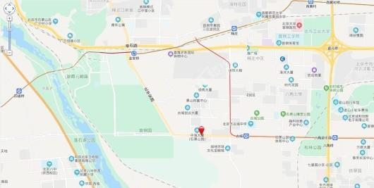中海空间系列品牌馆交通图