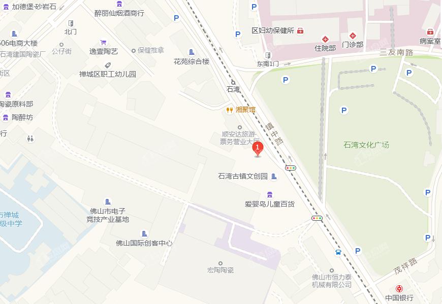 星禅·宝丰府位置图