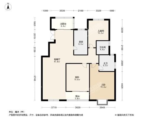 海玥南山户型图