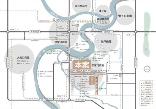 一曲晴江交通图