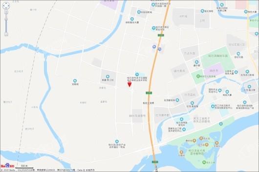 华夏幸福·深哈中心交通图