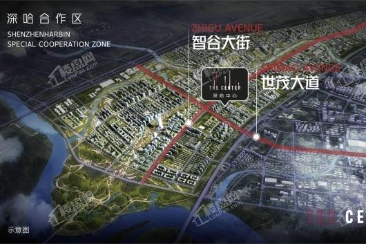 华夏幸福·深哈中心效果图