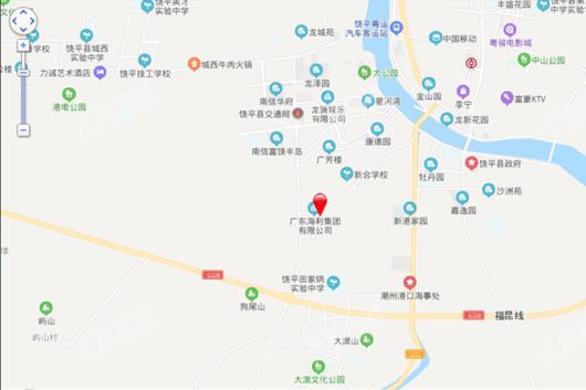饶平碧桂园交通图