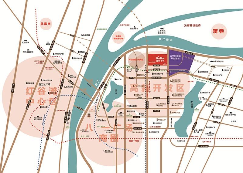 江铃卡卡位置图