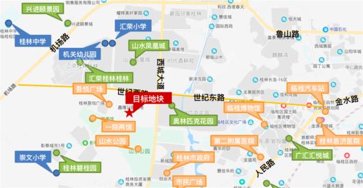 彰泰冠臻园交通图