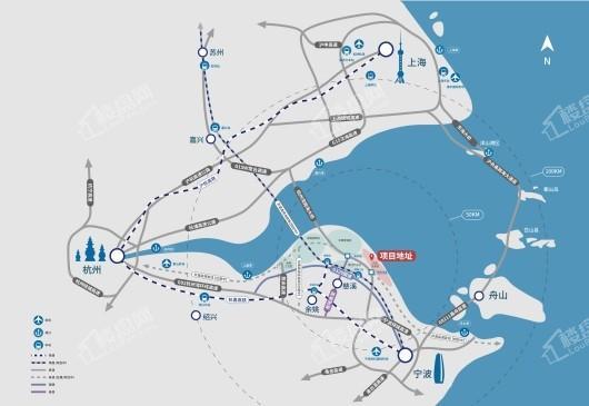 正大蓝城·春风蓝湾交通图
