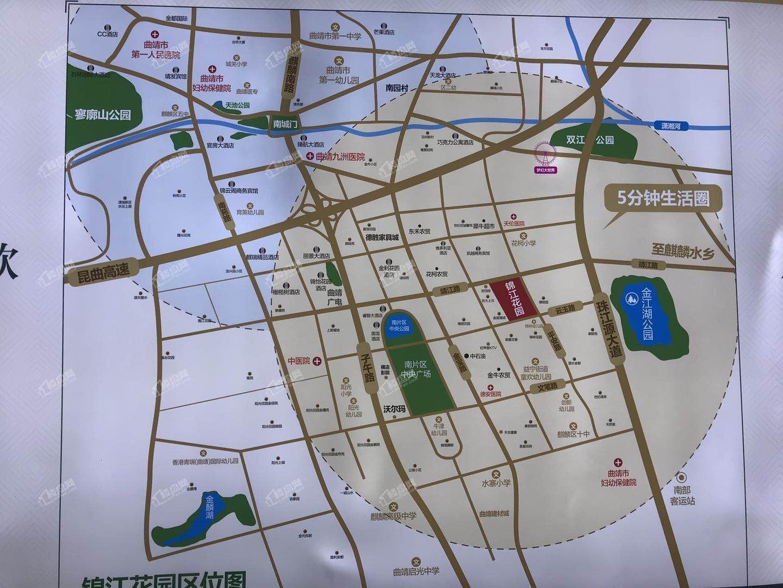 锦江花园位置图