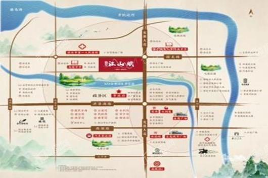宿迁碧桂园江山赋交通图