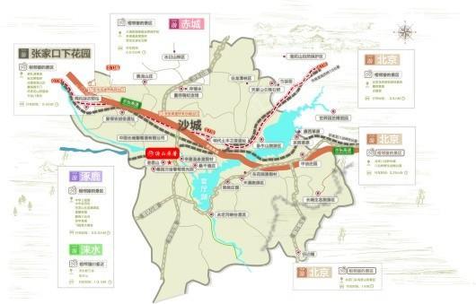 汤山原著交通图