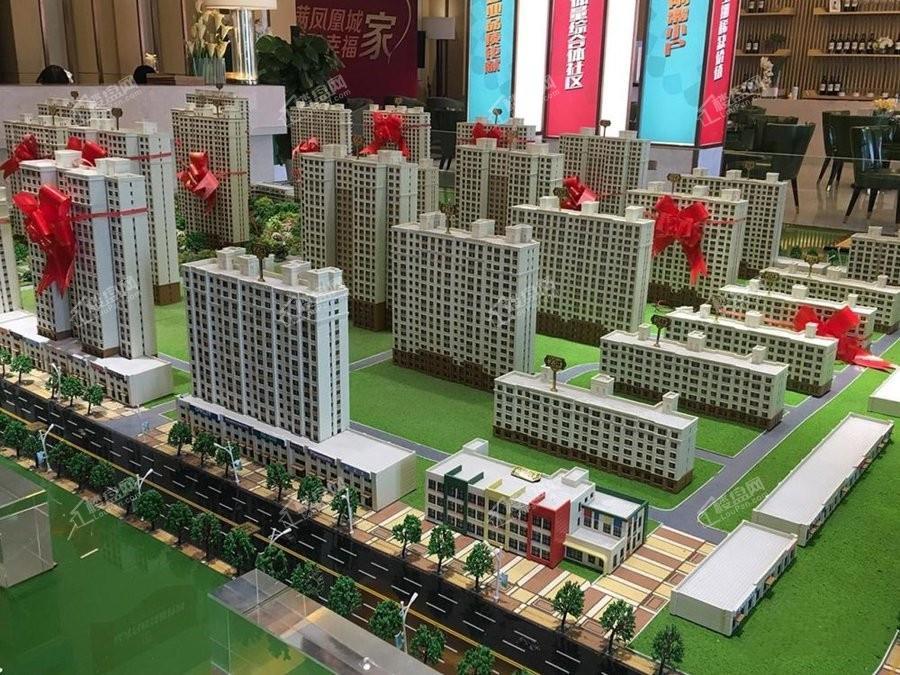 鲁商凤凰城实景图