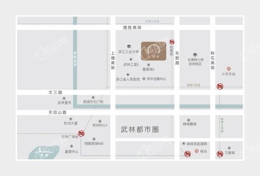 中海望廬交通圖