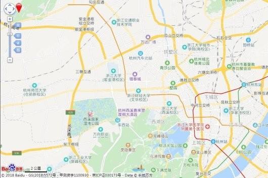 新湖香格里拉蓝月春晓交通图