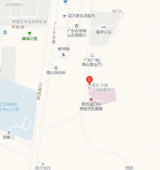 盛凯宇逸江澜位置图