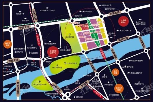 国博V墅交通图