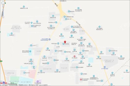 华成上院交通图