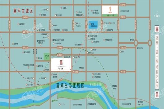 添康富士城交通图