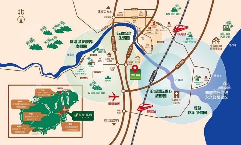 华策嘉园位置图