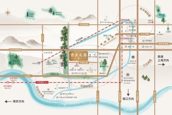 香溪美第位置图