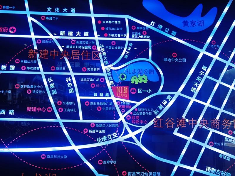 礼步湖壹号位置图