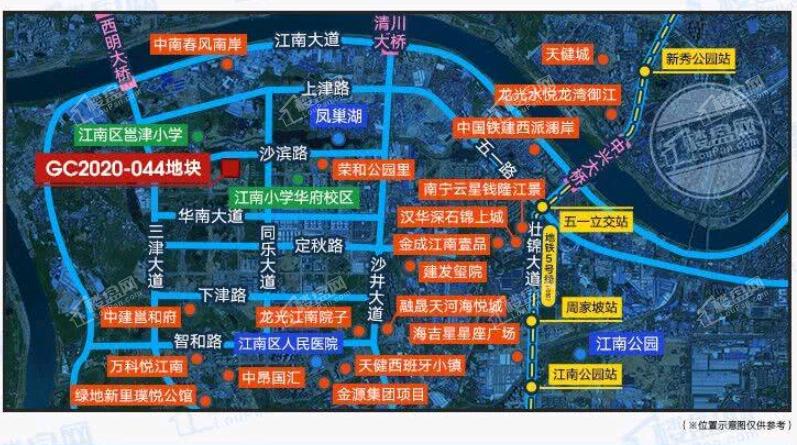 锦樾府位置图