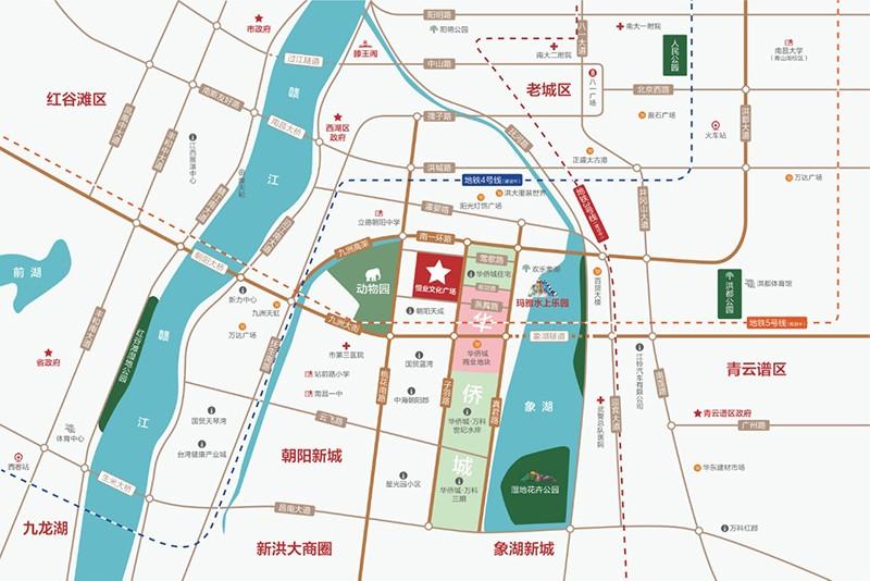 恒业文化广场位置图