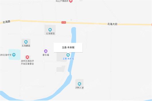 玉泰未来城交通图