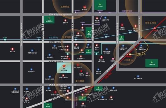 东苑新天地公寓交通图