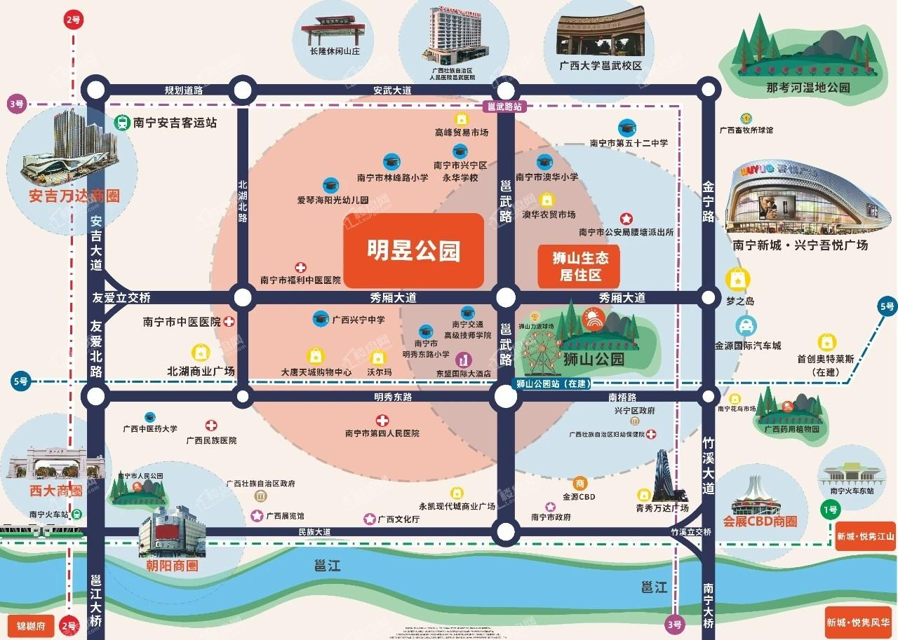 明昱公园位置图
