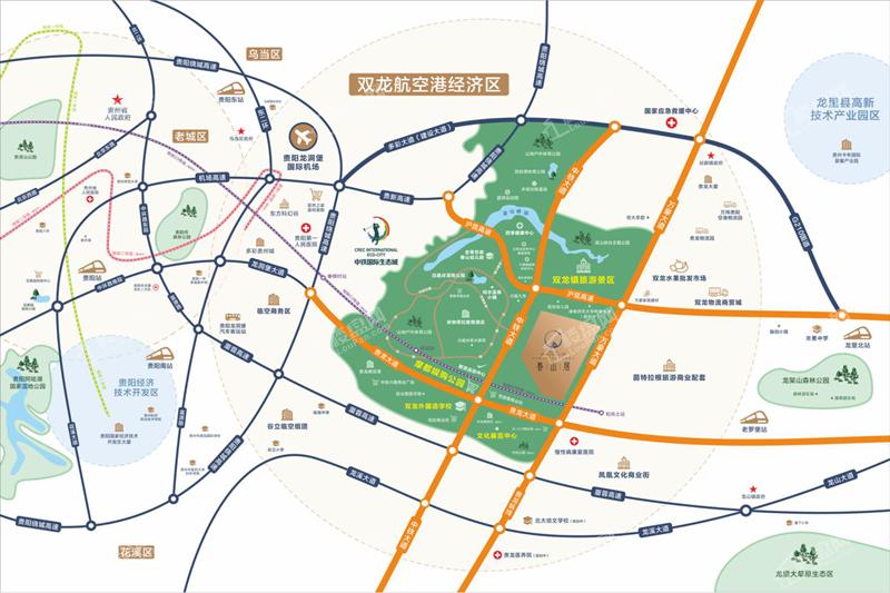 中南菩悦·春山居位置图