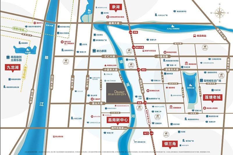 润永通悦港城位置图