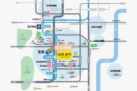 财信新界交通图