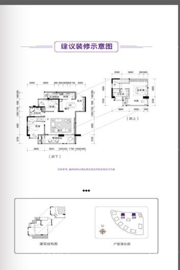 华熙LIVE023 户型图