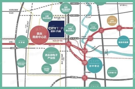 金科美的新天宸交通图