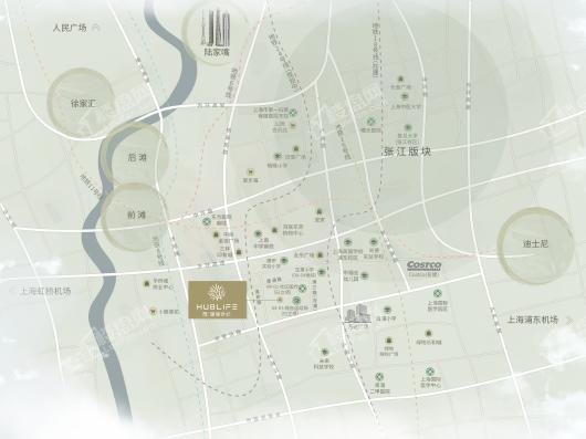 浦发仁恒·珊瑚世纪交通图