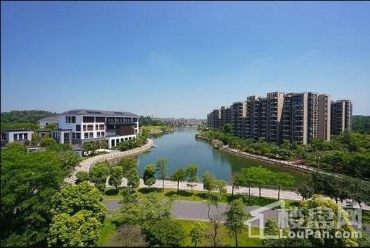 广佛新世界花园洋房实景图