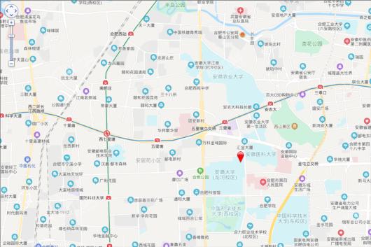 大富鸿学府交通图