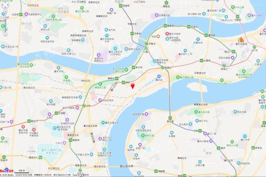 中核岭寓交通图