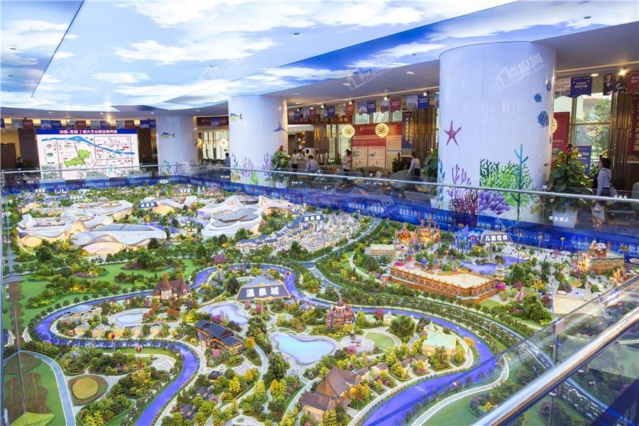 南宁空港恒大文化旅游城实景图